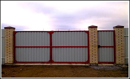Откатная ворота