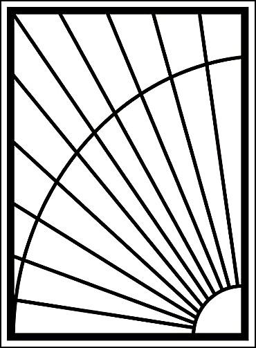 Металлические решетки на окна «Солнце»