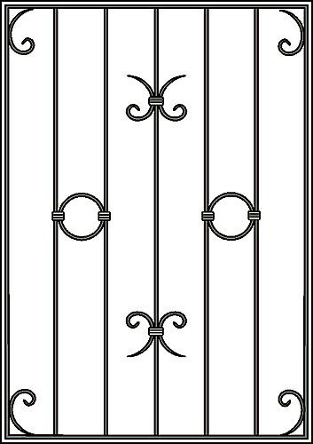 Решетка на окно Арт. КВ №2
