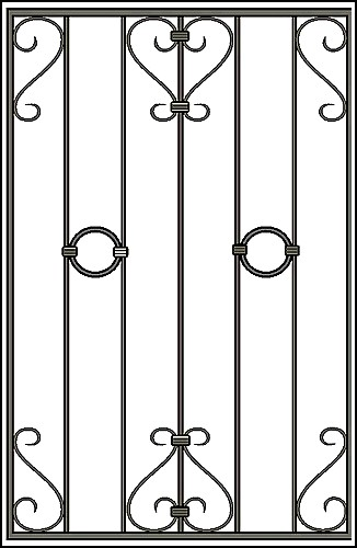 Решетка на окно Арт. КВ №8