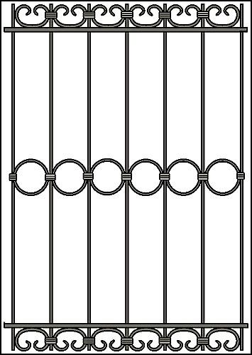 Решетка на окно Арт. КВ №26
