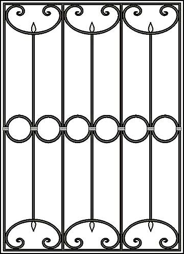 Решетка на окно Арт. КВ №34