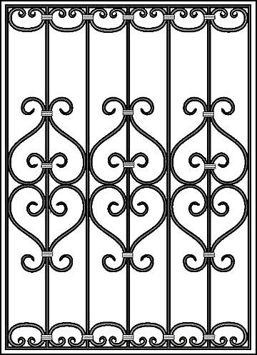 Решетка на окно Арт. КВ №47