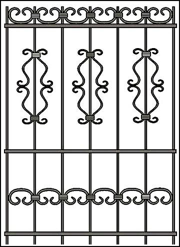 Решетка на окно Арт. КВ №48