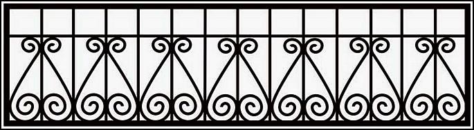 Ограда сварная ОС №5.<br />Секция высотой от 330 до 400 мм.