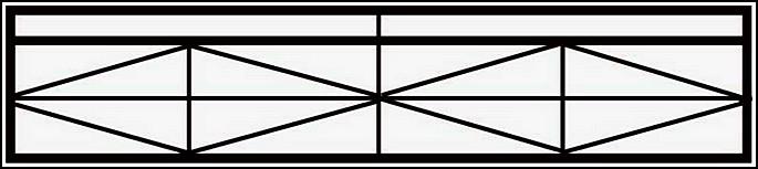 Сварная ограда ОС №10. <br />Секция высотой 300 мм.