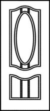 Фрезеровка МДФ Рис. № 022