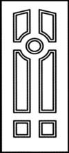Фрезеровка МДФ Рис. № 036