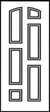 Фрезеровка МДФ Рис. № 068