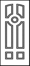 Фрезеровка МДФ Рис. № 081