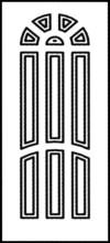 Фрезеровка МДФ Рис. № 113