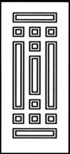 Фрезеровка МДФ Рис. № 130
