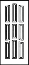 Фрезеровка МДФ Рис. № 139