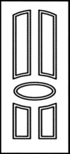 Фрезеровка МДФ Рис. № 155