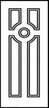 Фрезеровка МДФ Рис. № 157