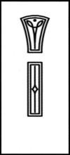 Фрезеровка МДФ Рис. № 163