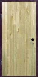 Одностворчатая  однолистовая  дверь  860 на 2100 мм.