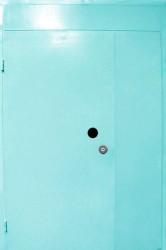 Полуторная  однолистовая  дверь  1400 на 2400 мм.