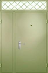 Полуторная  двухлистовая  дверь  1300 на 2300 мм.