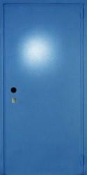 Одностворчатая металлическая однолистовая  дверь  860 на 2100 мм.