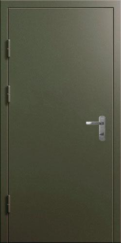 двери двухлистовые стальные