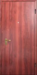 Одностворчатая металлическая двухлистовая  дверь  860 на 2100 мм.