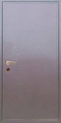 Одностворчатая входная однолистовая утепленная дверь c шумоизоляцией 900 на 2000 мм.