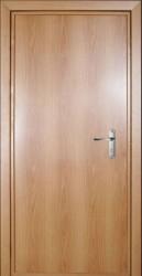 Одностворчатая  однолистовая утепленная дверь c шумоизоляцией 960 на 2000 мм.